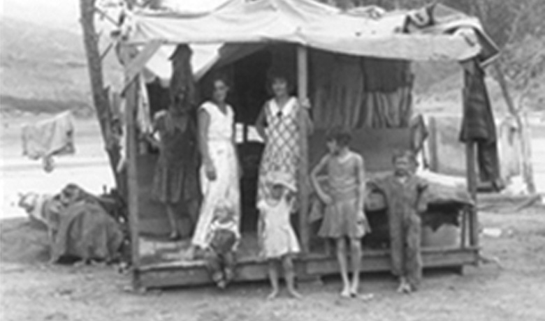 Great Depression - History of Man Camps