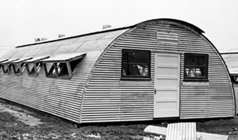Quonset Man Camp Buildings