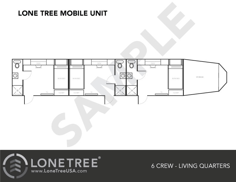 Mobile Man Camp Housing | Lone Tree USA